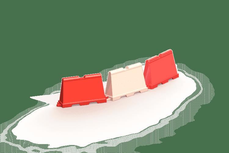 Bariera drogowa (separator)