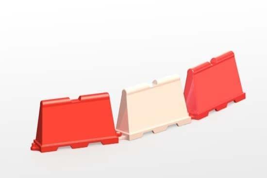 formowanie rotacyjne - bariery drogowe