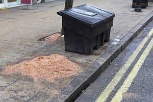 pojemnik na sól drogową